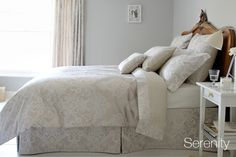 Serenity Bed Linen | Serenity Luxury Bedding | Christy Home