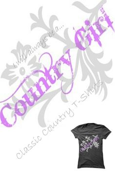 Blue jeans and tee shirts are the uniform of the day for real Country Gals. Find 44 classic quality shirts in this quality collection. Custom Tee Shirts, Blue Jeans, Country, Tees, Classic, Collection, Derby, T Shirts, Rural Area