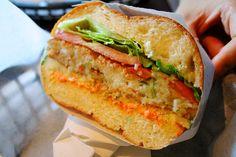crab cake sandwich | Tiny's Giant Sandwich Shop OH MY GOD, W… | Flickr
