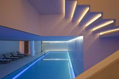 Our refreshing 18 x 5m pool in Akasha Holistic Wellbeing Centre - Conservatorium Hotel Amsterdam