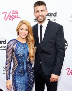 Shakira and Gerard Pique attend the 2014 Billboard Music Awards