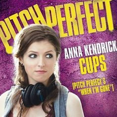 """I just used Shazam to discover Cups (Pitch Perfect's """"when I'm Gone"""";Pop Version) by Anna Kendrick. http://shz.am/t87678157"""