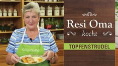 Resi Oma kocht - Topfenstrudel - YouTube Cheese Spaetzle Recipe, Cereal, Homemade, Cooking, Breakfast, Youtube, Food, German Recipes, Pasta
