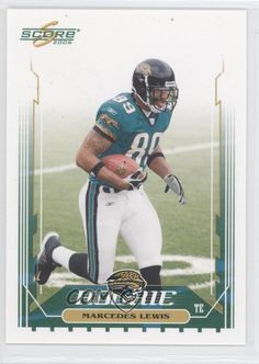 2006 Score #357 Marcedes Lewis Jacksonville Jaguars RC Rookie Football Card | Sports Mem, Cards & Fan Shop, Sports Trading Cards, Football Cards | eBay!