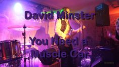 Strongly inspired by his brother-in-law 🅲🅰🅻🆅🅸🅽 🆁🆄🆂🆂🅴🅻🅻, David Minster makes the most of it and offers us Rock and Blues to the rhythms of the American Far We. Muscle Cars, Law, Brother, Blues, David, Neon Signs