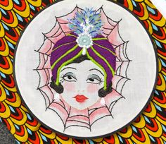 Image of Gypsy Lady Embroidery