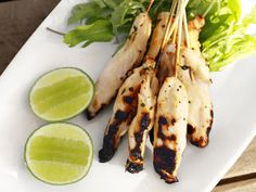 Margarita Chicken Skewers ~ talking tequilla here.