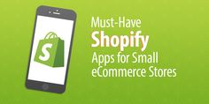 If you're a small eCommerce store setting yourself up on Shopify, these are the 7 Shopify apps you must have to get your store off the ground. Retail Technology, Ecommerce Store, Best Apps, Must Haves, Online Business, Web Design, Entrepreneur, Free, Blog