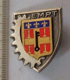 insigne militaire ° pucelle ECOLE MILITAIRE PREP TECHNIQUE DRAGO H666