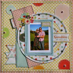 Sunshine and Happy Days - ** Scrapbookit ** - Scrapbook.com