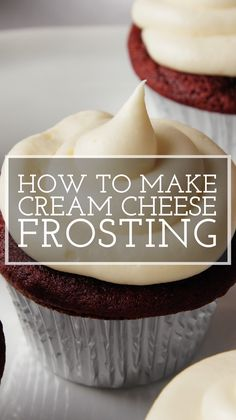 Baking Recipes, Cookie Recipes, Dessert Recipes, Cupcake Icing Recipes, Birthday Cake Frosting Recipe, Cake Icing Recipe Easy, Healthy Frosting Recipes, Homemade Vanilla Frosting, Homemade Cupcake Recipes
