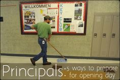 These are great tips to help principals prepare their hearts and minds for back to school!