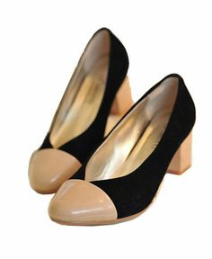 Low Heel Shoes in Color Block Free Global Delivery - Find Latest Fashions Clothing Labels