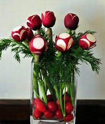 Image result for vegetable centerpieces arrangements