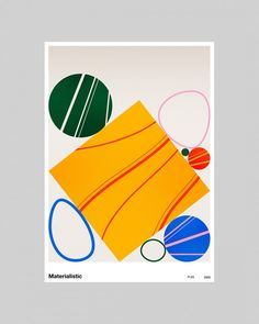 Discover the diverse poster designs by Jerry-Lee Bosmans' series 'Printmaking Challenge V2'.