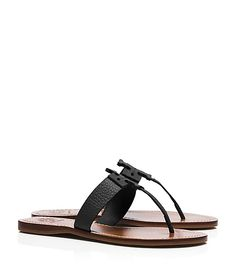 Tory Burch Moore Flat Thong Sandal - liking these, size 8 1/2