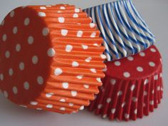 36 Assorted Circus Cupcake Liners. $3.00, via Etsy.
