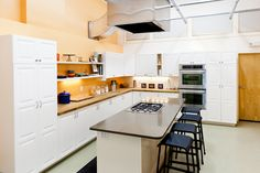 The completed Rival/how2heroes Kitchen Studio. Lights, camera, cooking!