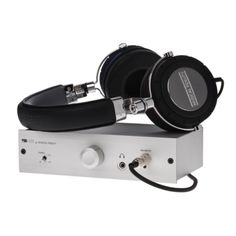 Musical Fidelity V90-HPA amplifier and MF-200 headphones, we have them both ON DISPLAY and in stock, we don't forget entry level gear either. www.stereo-passion.com