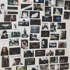 Pictures on Wall Picture Wall, Photo Wall, Polaroid Wall, The Kooks, Cute Room Ideas, Tumblr Rooms, Grunge Room, Roomspiration, Inspiration Wall