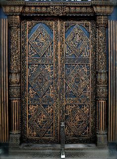 Doors of Stone Town, Zanzibar - IX by scurvy_knaves, via Flickr