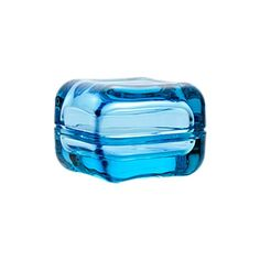 Iittala Small Light Blue Vitriini Glass Box: The collection of boxes are the perfect way to display all the little things you love. Mix and match with the versatile collection of glass and wood pieces. This colourful range gives endless possibilities of storing small objects and putting them on show. There's no better way to showcase your mood or personality.