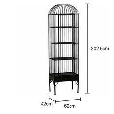 Tall Birdcage Shelving Unit