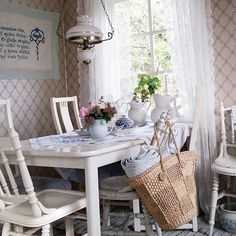 Shabby and Charme: Uno chalet di campagna in Svezia
