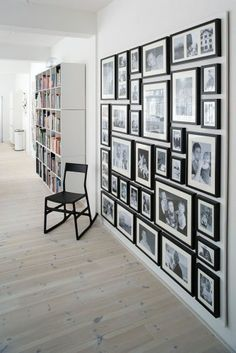 A wall of frames is the perfect way to display that precious moment in time. D.A Yates Photography & Design are able to help you design your space. www.dayates.com.au