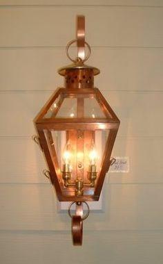 The Broad Street Lantern — Gas or Electric | The Charleston Collection Lanterns | Carolina Lanterns