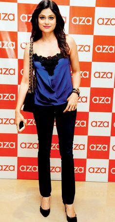 Shamita Shetty at the Aza store launch in Bandra