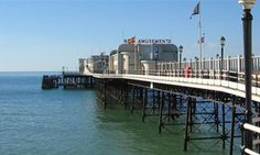Worthing, West Sussex by the Sea, England, UK #studyabroad