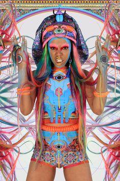 Nixi Killick Real Eyes Shorts – Eclectic Ladyland