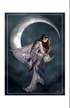 Home Images Fairy Crescent Moon Image