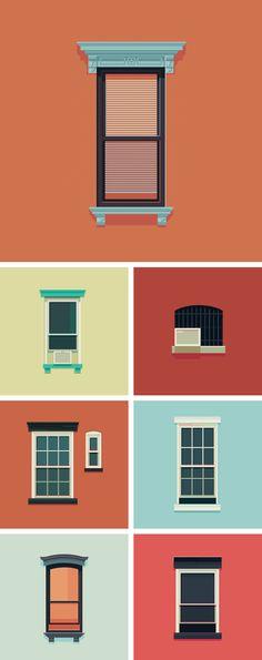 Weekly Illustrations | Windows of New York http://www.windowsofnewyork.com