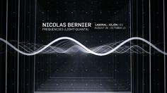 frequencies (light quanta) sound & light installation