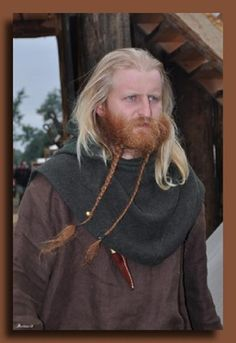 Warsaw, Poland (viking portrait warrior day) - a photo by (Jarl Borg Father's? Viking People, Viking Men, Viking Life, Viking Reenactment, Viking Garb, Valhalla Viking, Up Helly Aa, Viking Books, Vikings Tv Show