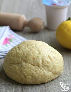 PASTA FROLLA ALLO YOGURT E' buonissima, leggera e profumata questa pasta frolla allo yogurt, realizzata senza utilizzare nè burro nè olio !