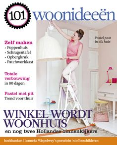 Cover Dutch creative interior magazine 101Woonideeen 08-2011