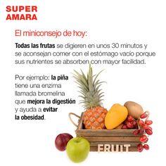 Las frutas y su digestión