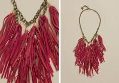 Black And White And Loved All Over: Before & After: Lucky Brand-Inspired Fringe Necklace