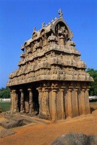 Ganesha Ratha Temple in Mamallapuram