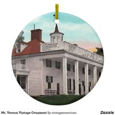 Mt. Vernon Vintage Ornament