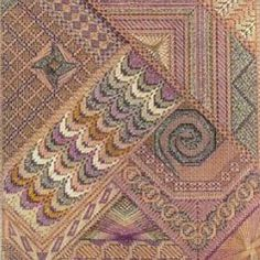 Jean Hilton Visions of Sugar Plums, charted needlepoint