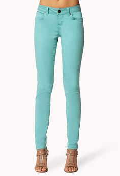 Life In Progress™ Colored Skinny Chinos | LOVE21 - 2000038346