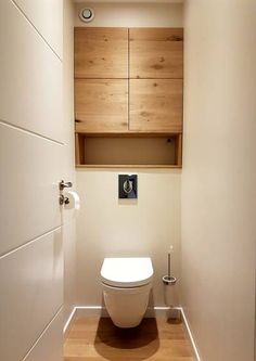idée petit WC: même planche au dessus du WC que sous lave-mains et ...