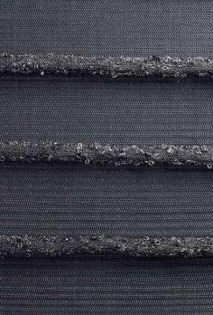 Detail, weaving (2011) by Danish textile designer and weaver Annemette Beck. via retail design blog