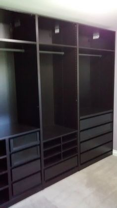 pax ikea kleiderschrank offen riesig 3m inkl inneneinrichtung ankleidezimmer ebay gummersbach. Black Bedroom Furniture Sets. Home Design Ideas
