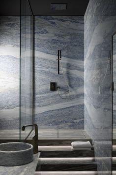 Antolini - WOW Slabs  Calcite blue extra 3cm slabs   galleriastone