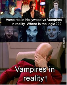 Those hot vampires aren't even real!